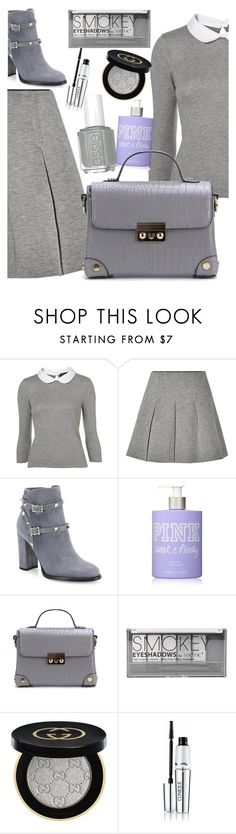 """""""Top set for Oct 1st, 2016"""" by elliewriter ❤ liked on Polyvore featuring T By Alexander Wang, Valentino, Victoria's Secret, Boohoo, Gucci, Clinique and holdontothatbag"""