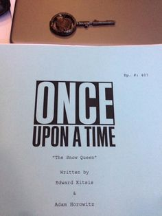 Once Upon a Time | The Snow Queen S4 Title