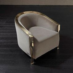 Fendi Casa - Meurice Armchair | Milan Design Week, iSaloni 2015, Milano, Fuorisalone