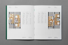 Branding and brochure spread by Studio8585 for Croatian property development Smokovik