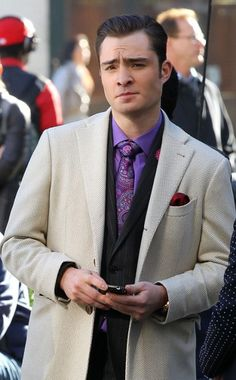 Ed Westwick as Chuck Bass - Gossip Girl