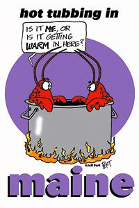 Hot Tubbing Lobsters.