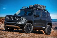 Check out all 7 2018 Easter Jeep Safari concepts, from a super tasty Wagoneer restomod to Jeep's take on the G-Wagen Accesorios Jeep Renegade, Easter Jeep Safari, Safari Jeep, Jeep Concept, Jeep Brand, Jeep Wagoneer, Custom Jeep, Jeep Parts, Car Mods