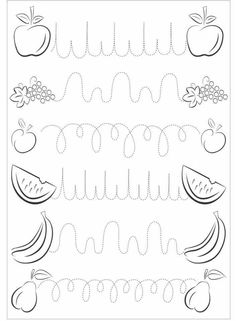Trace the Dotted Lines Worksheets for Kids - Preschool and Kindergarten Preschool Learning Activities, Kindergarten Writing, Writing Activities, Kids Learning, Preschool Centers, Tracing Worksheets, Kindergarten Worksheets, Abc Tracing, Number Tracing