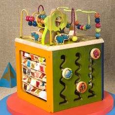 B.Zany Zoo Activity Cube