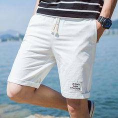 36629f42c5 2019 Summer Home Casual Shorts Men ,fashion Plus Size Mens Loose Cotton  Shorts , Comfortable