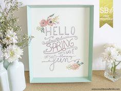 Sweet Spring Printab