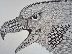 Zen Eagle Art Print