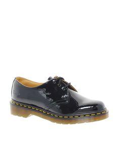 Dr. Martens Dr Martens 1461 Classic Black Patent Flat Shoes