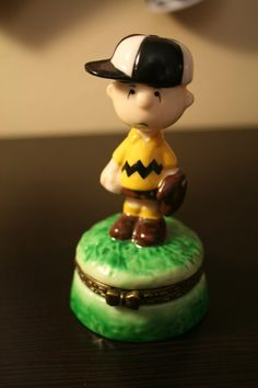Vintage Charlie Brown Limoge Box - Figurine - Peanuts - Cute for Collector of Peanuts Products. $20.00, via Etsy.
