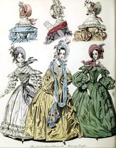 The World of Fashion and Continental Feuilletons 1836 Plate 21