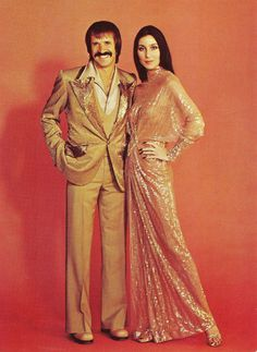 """Sonny and Cher Bono, """"I Got You Babe"""" 1965 Hit Song wrote by Sonny."""