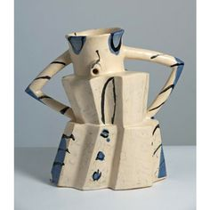 Alison Britton OBE RA (born 4 May is a British ceramic artist, with an international known for her large sculptural, slab built vessels Ceramic Pots, Ceramic Pottery, Nathalie Du Pasquier, Slab Ceramics, Crop Circles, Royal College Of Art, Ceramics Projects, Bottle Vase, Contemporary Ceramics