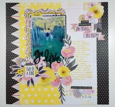 SCDT2017: Go Live featuring BoBunny, Petal Lane collection-Angie Rushlow