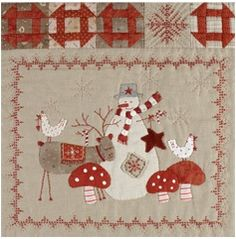 Scandinavian Christmas BOM Set - by Lynette AndersonSECONDARY_SECTION$89.00: Fabric Patch: Patchwork Quilting fabrics, Moda fabric, Quilt Supplies,�Patterns