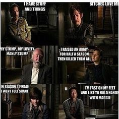 Rick, Daryl, Hershel, Phillip, Carl, and Glenn <3