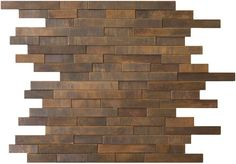 Antique Copper Mosaic Tile Backsplash Random Linear tiles are perfect for kitchen back splashes as a whole or as an accent.