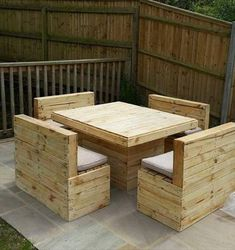 This time we are with this very easy and new DIY wooden pallet out door pallet garden furniture would built for you for your outdoor and indoor areas that's wooden pallet furniture make's your home so beautiful and gorgeous looking which make you out Recycled Pallet Furniture, Pallet Garden Furniture, Outdoor Furniture Plans, Furniture Projects, Pallet Projects, Bar Furniture, Furniture Layout, Pallet Ideas, Furniture Stores