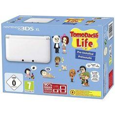 Nintendo 3DS XL weiß + Tomodachi Life