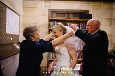 Bride in church #vail #bride #church