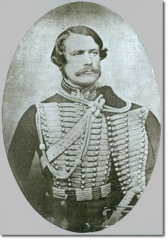 8th hussars- Capt. Edward Seager rode in the Charge of the light brigade in October 1854. He survived the bloody charge. Seager was one of the very few cavalry colonels to have risen from the ranks. He enlisted in 1830 and became adjutant in 1841 at the age of 28. He reached the rank of Lieutenant-Colonel in April 1859 and commanded the 8th Hussars, most notably in India, until 1865. He was promoted to the rank of Lieutenant-General and died in March 1883.