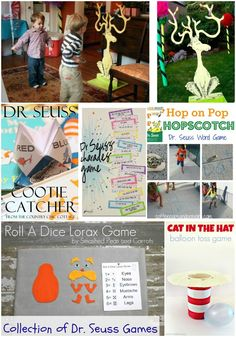Dr. Seuss Games & Activities For Parties - Moms & Munchkins