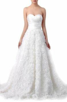 9c7d3a57ba8b Natrual Sweetheart Satin Strapless Wedding Dresses Ugly Wedding Dress,  Dream Wedding Dresses, Wedding Gowns