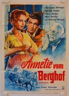 Poster zum Film: Annelie vom Berghof. 1958