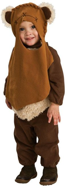 Star Wars - Ewok Infant/Toddler Costume [Star Wars Costume - Children's C] - In Stock Costume Star Wars, Star Wars Halloween Costumes, Witch Costumes, Halloween Party, Ewok Costume, Toddler Costumes, Costumes For Women, Star Wars Gifts, Star Wars Jedi