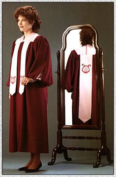 Cambridge Choir Robe Academic