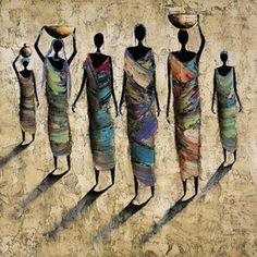 O cotidiano da África na pintura de Michel Rauscher e na voz de poetisas…