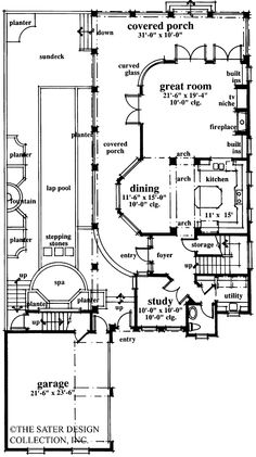 Eplans Italianate House Plan - Fabulous Charleston Row Style - 2873 Square Feet and 3 Bedrooms from Eplans - House Plan Code HWEPL05555