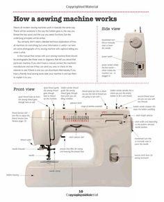 sewing machine  Nicki Pedeliski via Alysse Michelle onto {FACS is where its @} Sewing, Textiles and Fashion Design