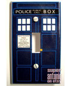 TARDIS light switch.