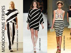 Monochrome stripes! #trends2014 #ylc #jessicahuffman
