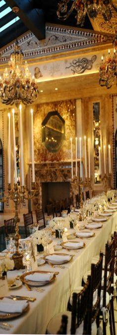 Luxury table settings  #Luxurydotcom