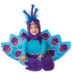 Mallory is going to be a peacock for Halloween, but I am making the costume...here's an inspiration though!
