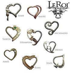 PRE-ORDER King of Hearts Silver Collection - Accessoires & Piercings - piercing Innenohr Piercing, Daith Piercing Jewelry, Daith Earrings, Body Piercings, Migraine Piercing, Tongue Piercings, Cartilage Piercings, Diamond Earrings, Body Jewellery