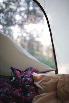 zip open the fresh air and birds singing....one of the best ways to wake up
