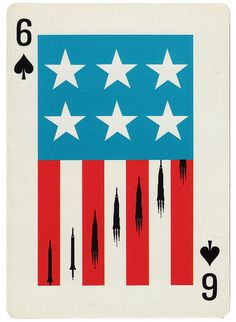 ///// #playingcards #cards #deck #six #spades #USA #illustration