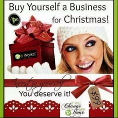 For $99 you get marketing materials, support & personal mentoring with me, & a box of wraps! Sell those and BOOM, $100! No risk!