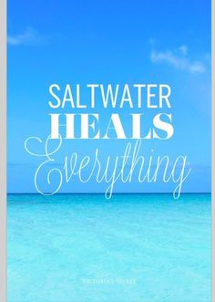 Summertime! Oh seriously? Wait 'till that salt water gets into your wound...