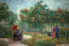 Parque en Asnieres - Van Gogh #art #painting