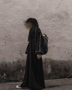 Modest Fashion Hijab, Casual Hijab Outfit, Hijab Chic, Muslim Fashion, Hijabi Girl, Girl Hijab, Black Hijab, Hijab Style Tutorial, Muslim Girls