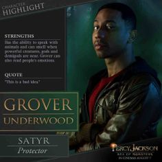 A Percy Jackson: Sea of Monsters picture featuring Grover (Brandon T. Jackson) has been released in a new character highlight from their compendium series. Percy Jackson Film, Percy Jackson Characters, Percy Jackson Quotes, Percy Jackson Fandom, Aphrodite, Hades Und Persephone, Annabeth Chase, Percabeth, Rick Riordan