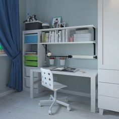 Детская комната, в которой творится магия - IKEA Ikea, Corner Desk, Room, Furniture, Home Decor, Corner Table, Bedroom, Decoration Home, Ikea Co