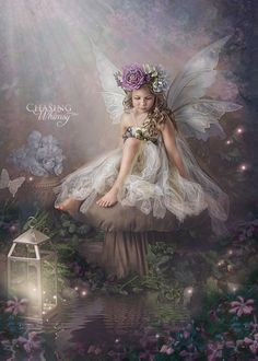 Fairy Portrait by Chasing Whimsy Baby Fairy, Love Fairy, Fantasy World, Fantasy Art, Fantasy Fairies, Fairy Photography, Enchanted Fairies, Fairy Pictures, Beautiful Fairies