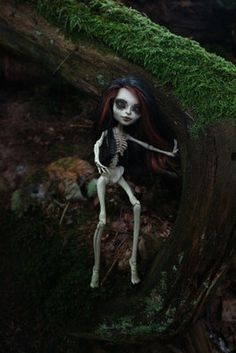 Monster High repaint Skelita