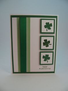 * This is a one-of-a-kind hand made St. Patricks Day card. Its perfect for wishing your favorite lad or lassie a happy day o the green! Its