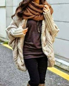V-Neck Batwing Sleeve Knitted Cardigans